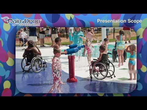 Inclusive Aquatic Play Education Session presented at 2018 IAPD/IPRA