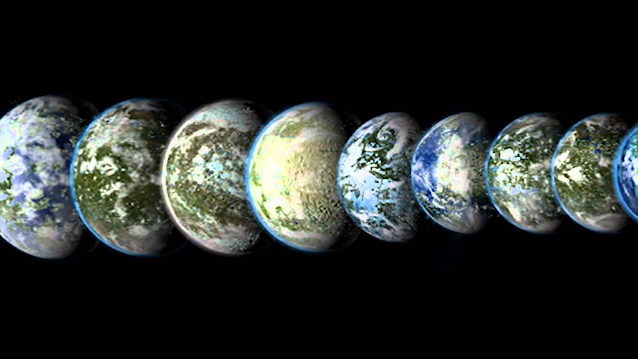 terraformed solar system with labels - photo #22