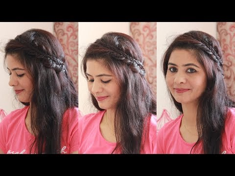 इस-बार-पार्टी-/-शादी-के-लिए-try-करें-ये-beautiful-braided-hairstyle-|लम्बे-बालों-के-लिए-hairstyle