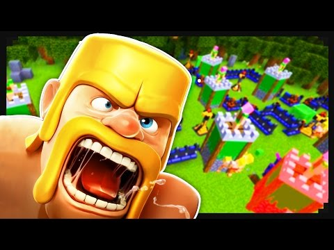 Clash of Clans + Minecraft