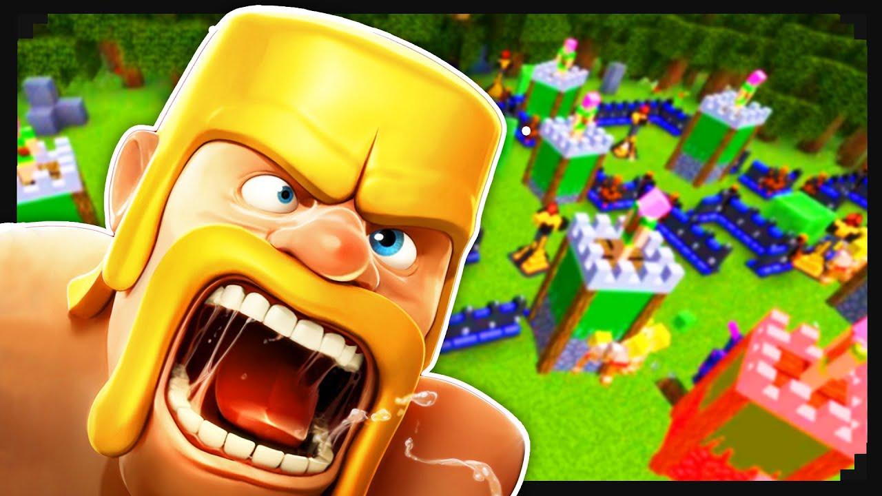 Clash of Clans + Minecraft #1