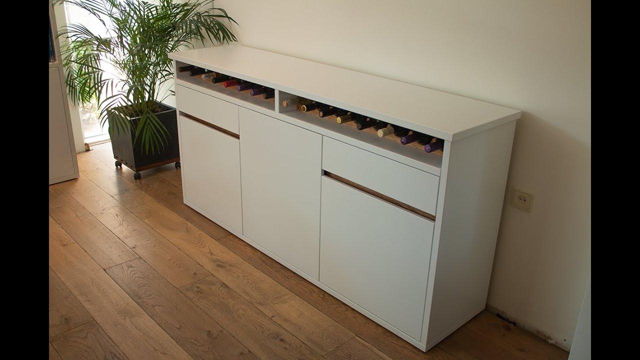 Modern sideboard/buffet with wine storrage