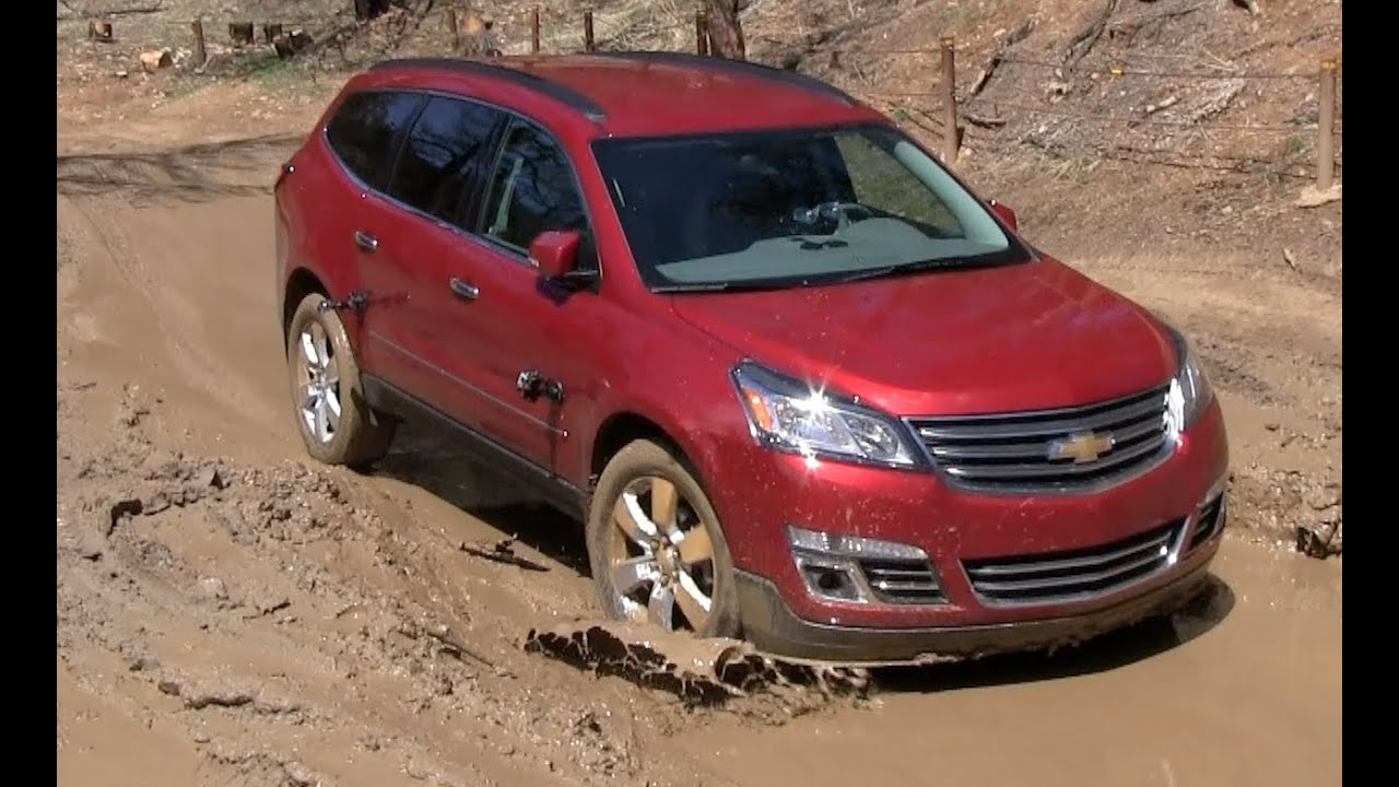 2013 dodge durango vs chevy traverse muddy off road mashup review part 2 youtube