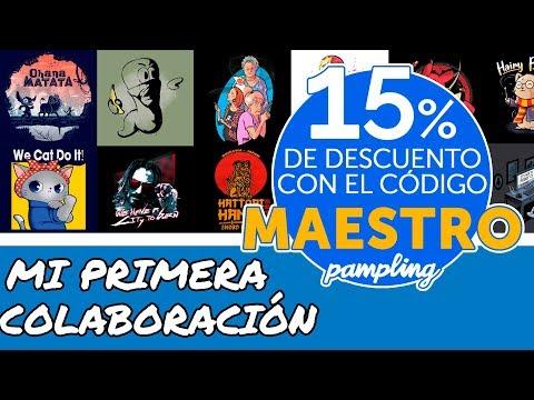 PAMPLING | MI PRIMERA COLABORACIÓN + HAUL CAMISETAS FRIKIS