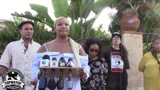Press Conference from Family of Vaughn Denham | Killed by San Diego Police
