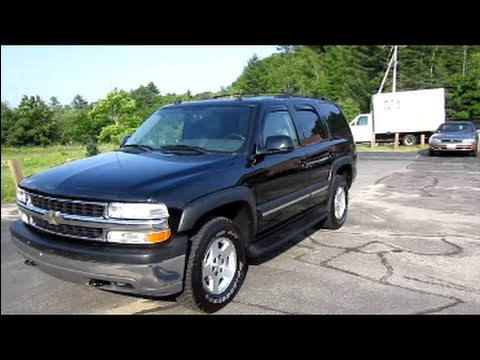 2004 chevrolet tahoe lt start up engine in depth tour. Black Bedroom Furniture Sets. Home Design Ideas