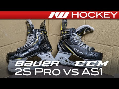 Bauer Supreme 2S Pro vs. CCM Super Tacks AS1 Skates // Tech & Spec Comparison