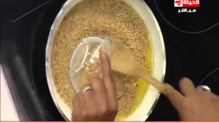 المطبخ - طريقة عمل العجمية بسهولة  - الشيف يسري خميس - Al-matbkh