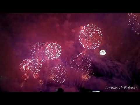 47th UAE National day 2018 Fireworks display Abu Dhabi Corniche