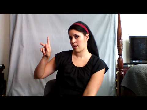Learn ASL in 31 Days: Day 1 :: Alphabet