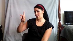 Learn ASL in 31 Days: Day 1 :: Alphabet