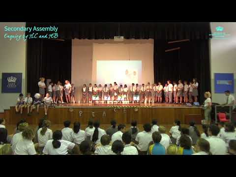 DCIS: Secondary School Assembly - Enquiry by 7LC and 7EB