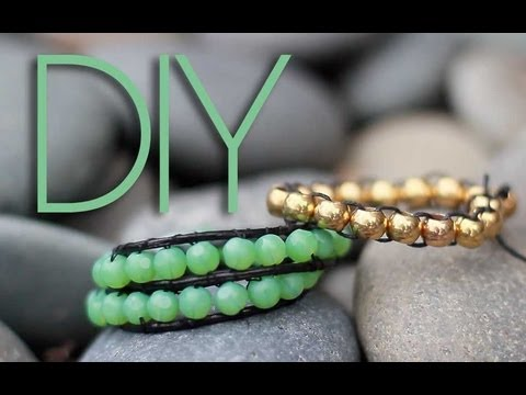 Diy Beaded Wrap Bracelets 2 Ways