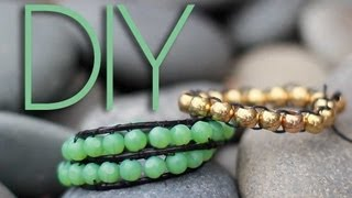 DIY Beaded Wrap Bracelets {2 Ways}