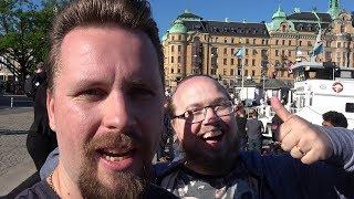 TRÄFFAR GODA VÄNNER (Minecraft Creator summit 2018)
