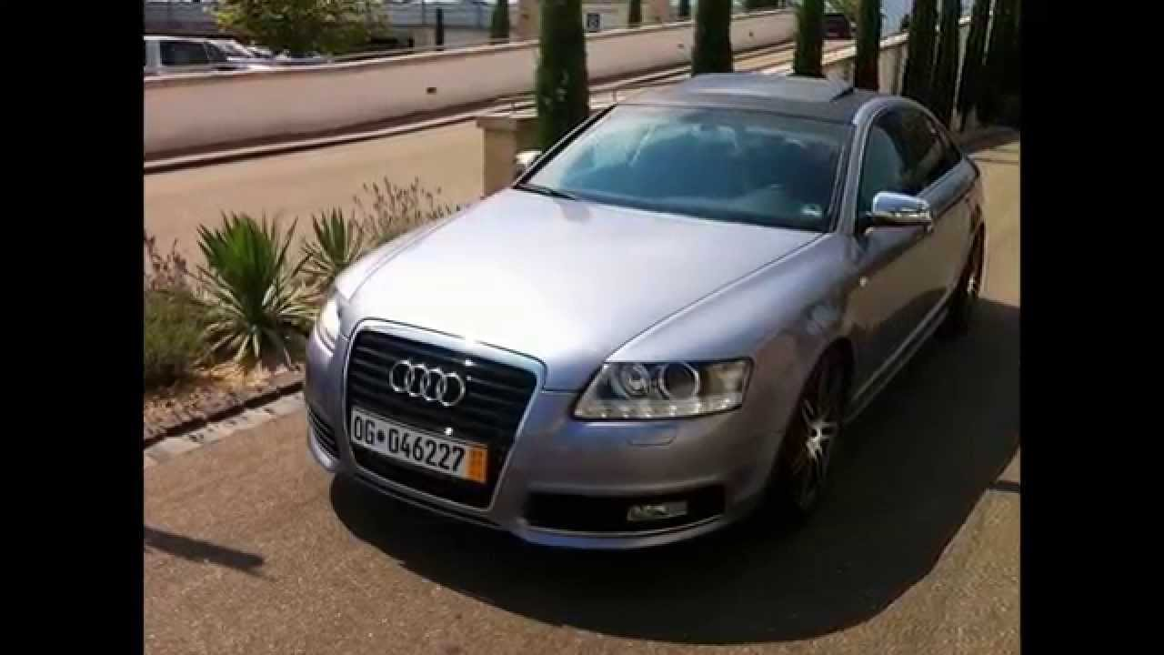 audi a6 4f v8 cool design show tuning youtube. Black Bedroom Furniture Sets. Home Design Ideas
