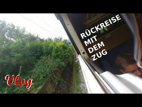 Rückreise mit dem Zug aus Kroatien