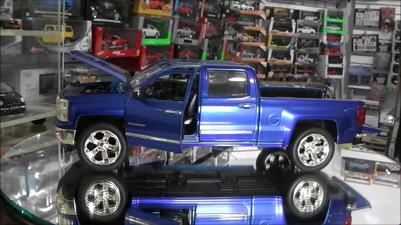Revisión / 1:24 Chevrolet Silverado Z71 LTZ 2014 Jada Toys - Just ...