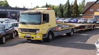 Mercedes-Benz - Atego 824 Kuvvetli 6er Zug - Autotransporter