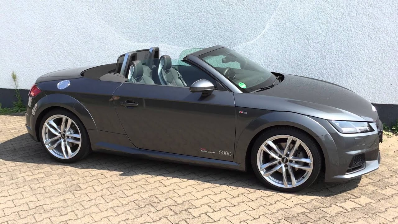 mods4cars smarttop for audi tt roadster 8s one touch. Black Bedroom Furniture Sets. Home Design Ideas