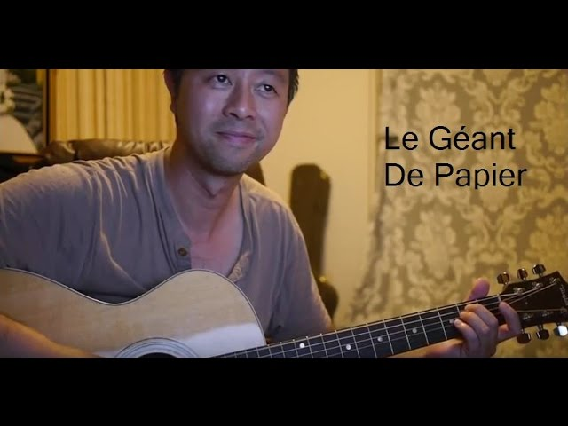 jean-jacques-lafon-le-geant-de-papier-cover-guitare-avec-paroles-et-accord-dans-la-description-coeur-de-pierre