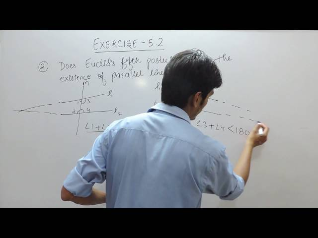 Exercise 5.2 - Question 2  NCERT/CBSE Solution for Class 9th Maths Introduction to Euclid's Geometry