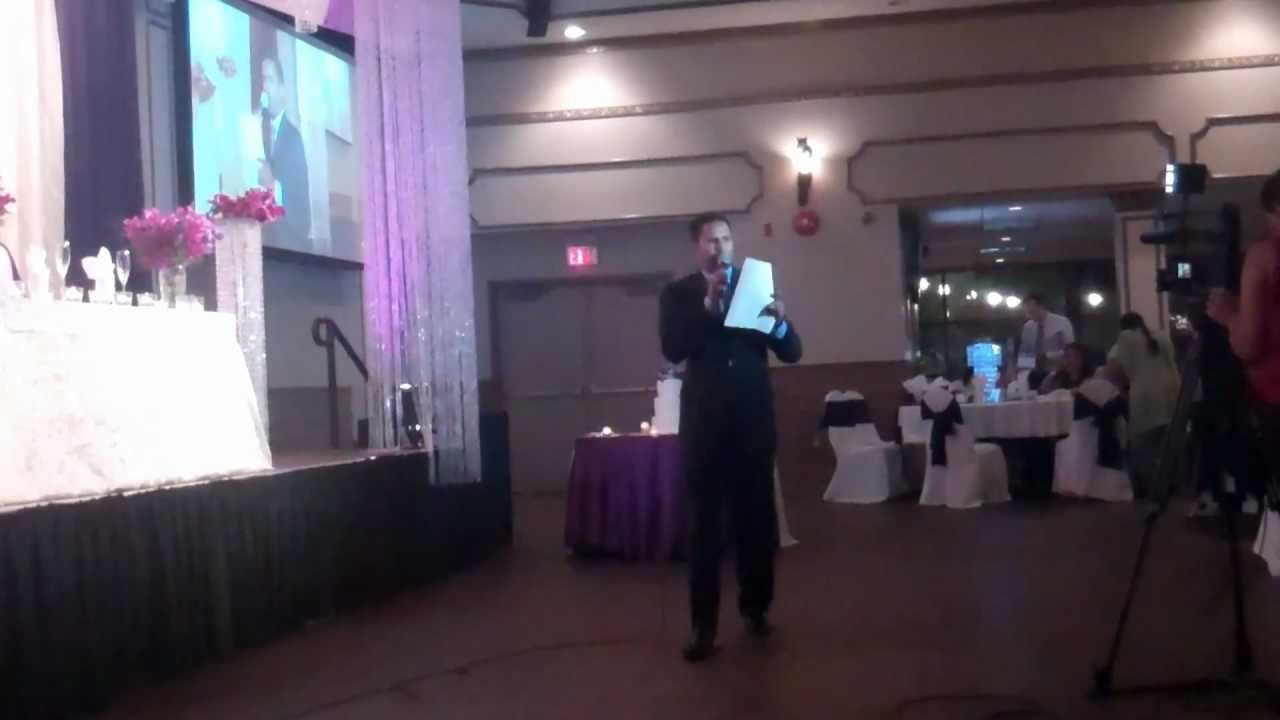 Vancouver Wedding Master Of Ceremonies Demo