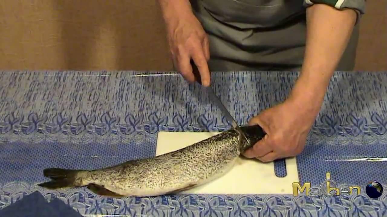 видео щука фаршированная в духовке