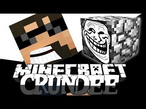 Minecraft: CRUNDEE CRAFT | COBBLESTONE TROLL!! [34]