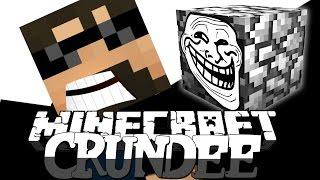 Minecraft: CRUNDEE CRAFT | COBBLESTONE TROLL!! [34]