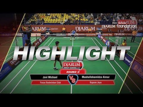 Jovi Michael (Focus Badminton Club) VS Mushalishamidza Aimar (Kapuas Jaya)