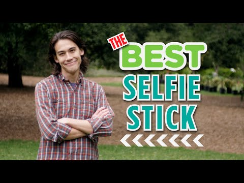 The Best Selfie Stick Anyone Could Ask For...