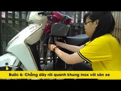 Hướng Dẫn Lắp Ghế Ngồi Xe Máy Beesmart X1 Cho Xe Ga - DÒNG XE LEAD