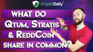 What do Qtum, ReddCoin and Stratis all have in common?
