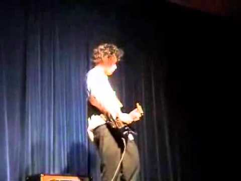 "Electric Guitar Solo called ""For the Love of God""  (Played by Matt Strickland-Mill)"