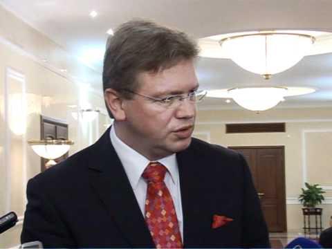 Mihai Ghimpu către Stefan Fule: Cred în viitorul european al Republicii Moldova