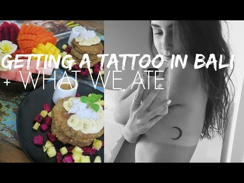 GETTING A TATTOO IN BALI
