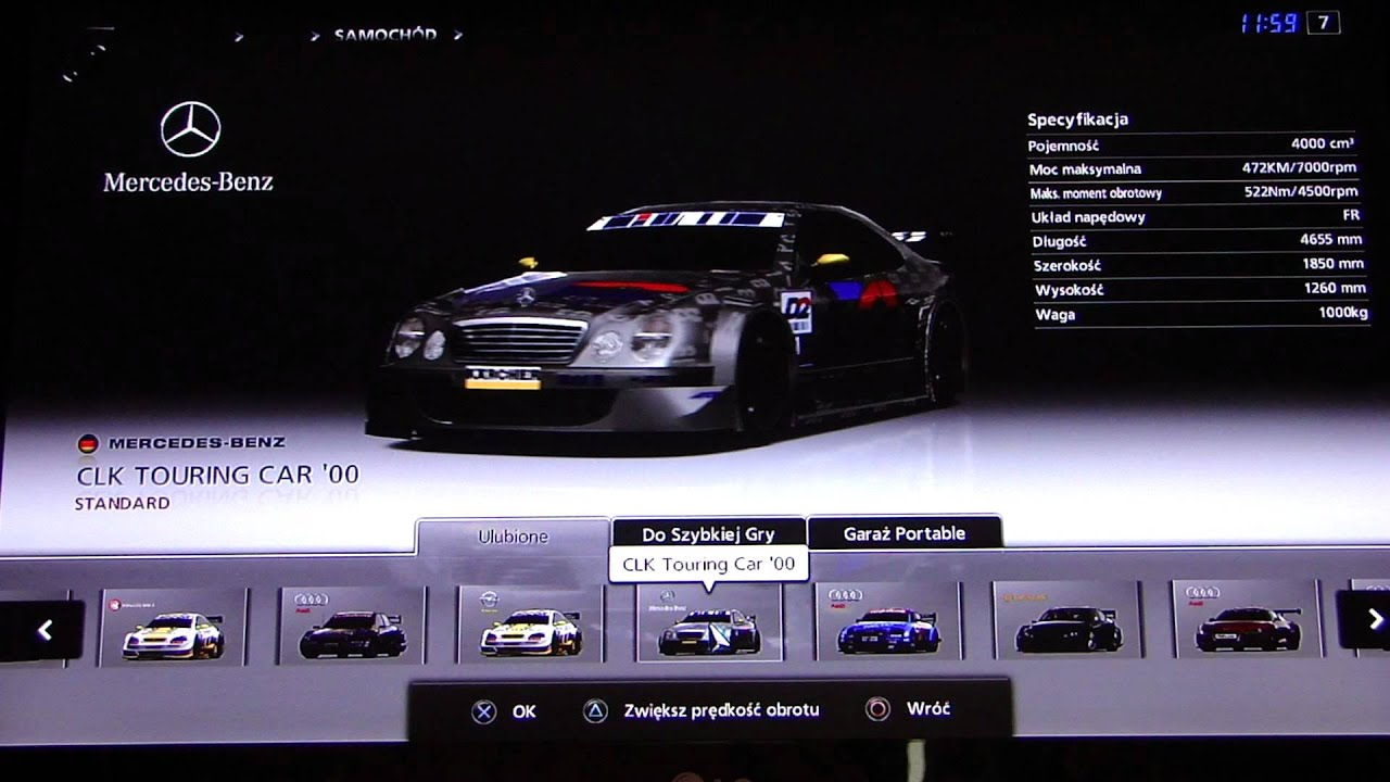 gran turismo 5 touring car list youtube. Black Bedroom Furniture Sets. Home Design Ideas