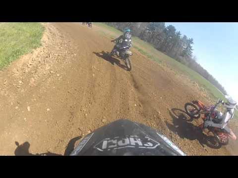 Practice at Staunton MX FCA Ride Day 4/16/16