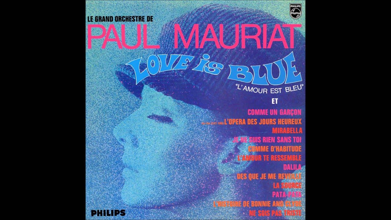 Download Paul Mauriat - Love is blue (France 1968) [Full Album]
