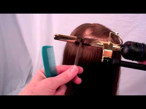 Figure 8 Curling With A Marcel Iron Youtube