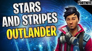 FORTNITE - Stars And Stripes AC Gameplay (Lvl 100 Mission Solo Without Shooting)