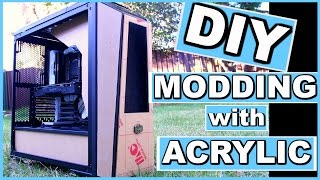 Project Infinity a DIY Water Cooled Custom PC - Computer Modding - Liquid Cooling - Part 1