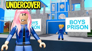 This Prison Trapped BOYS.. I Went UNDERCOVER & Broke Them Out!! (Roblox Bloxburg)