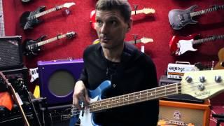 Борис Суздалев дает уроки игры на бас-гитаре. Урок №2: О постановке рук и звукоизвлечении