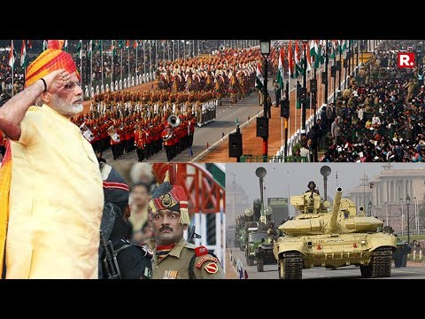 Republic Day Parade - 26th January 2018 - LIVE