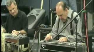 Bobby Bowman Jody Cameron Play Cold Cold Heart S.E. Texas Steel Guitar Club 10/4/2009