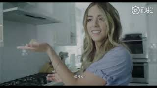 Cooking with Chloe Bennet