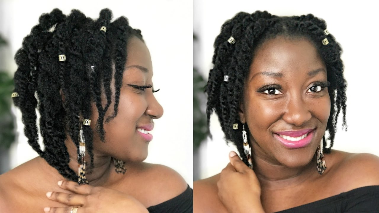 4c Hairstyles Braids: LOOSE TWIST ON 4C NATURAL HAIR