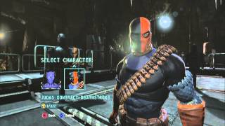 Batman Arkham Origins: How to Change Costumes in Challenge Mode - Tutorial -